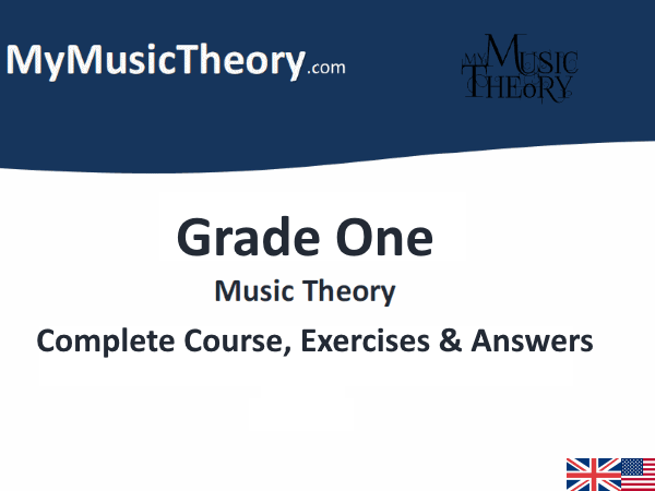 Grade 1 Music Theory (ABRSM & Trinity) Course & Exercises