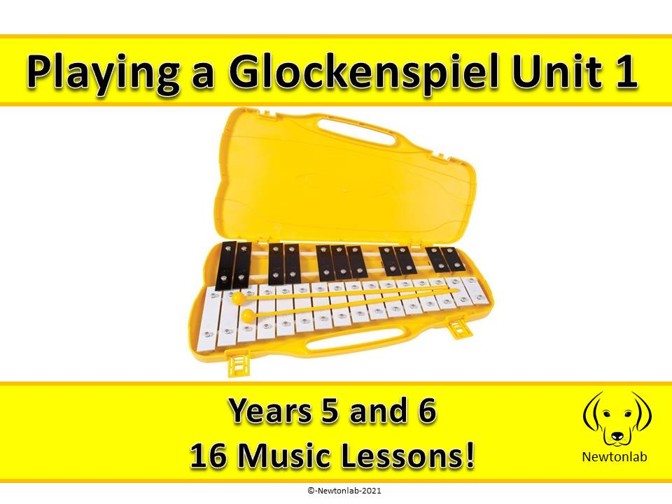 Playing a Glockenspiel Unit 1 - Years 5 and 6