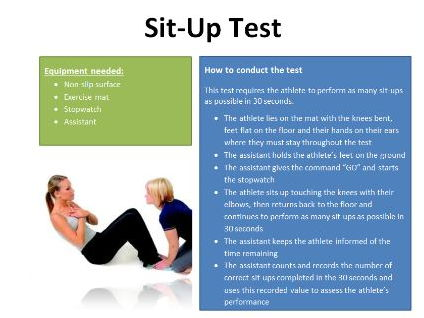 Fitness Tests Reciprocal Cards
