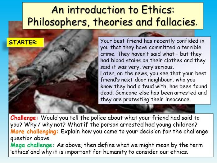 Ethics Introduction