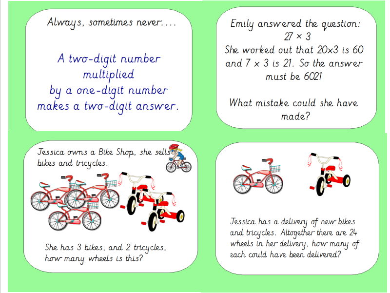 Huge Year 3 Multiplication Bundle Linked to The White Rose Small Steps Guidance