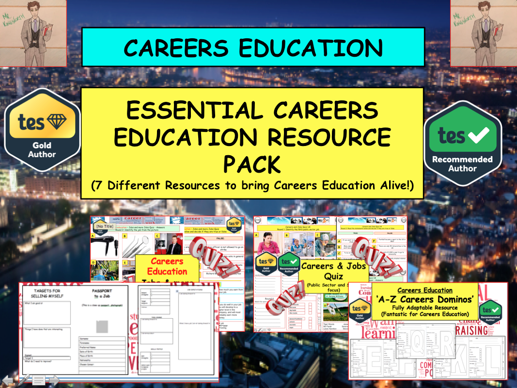 Essential Careers & Enterprise Education Pack : Explore Jobs, Qualifications and  a world of possibilities
