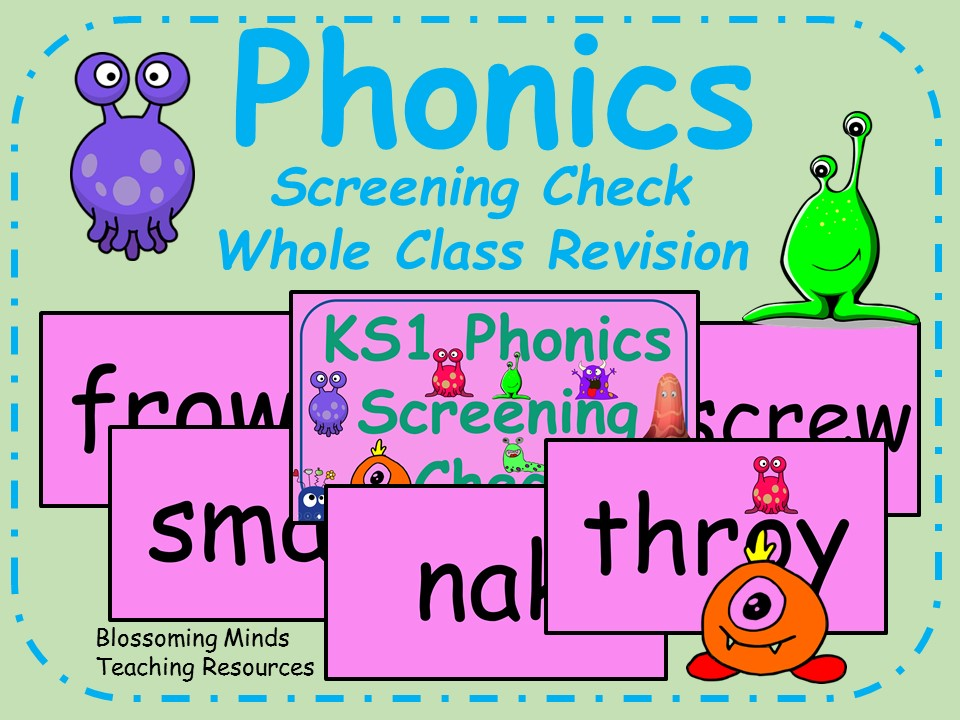 Phonics Screening Check Preparation