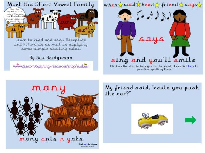 Short vowel family including CEW and spelling rules