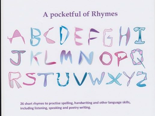 26 short rhymes to practise spelling, handwriting and other language skills