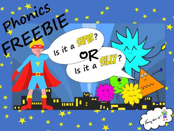 Super Silly Phonics FREEBIE