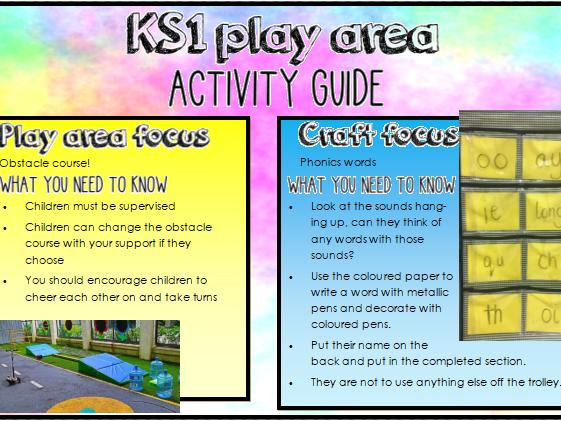 KS1 play area guide