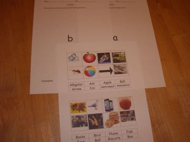 Alphabet and phonics A to Z For SEN, Early Years.