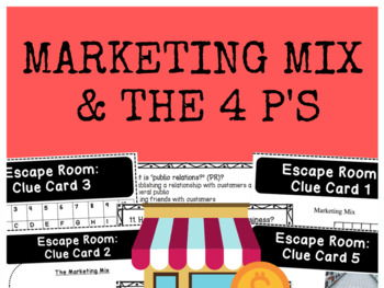 Marketing Mix - 4 p's - Bundle