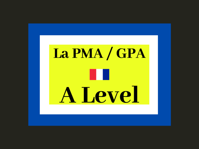 PMA GPA France