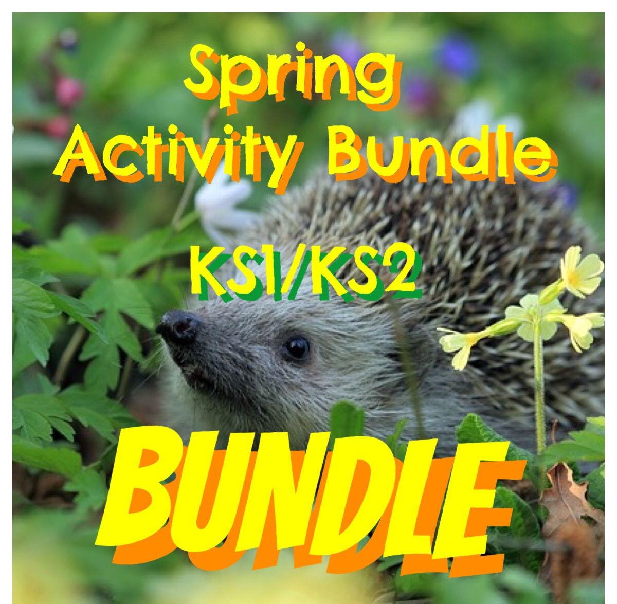 Spring Activity Bundle for KS1/KS2