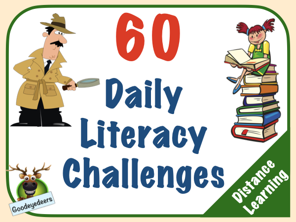 60 Daily Literacy Challenges