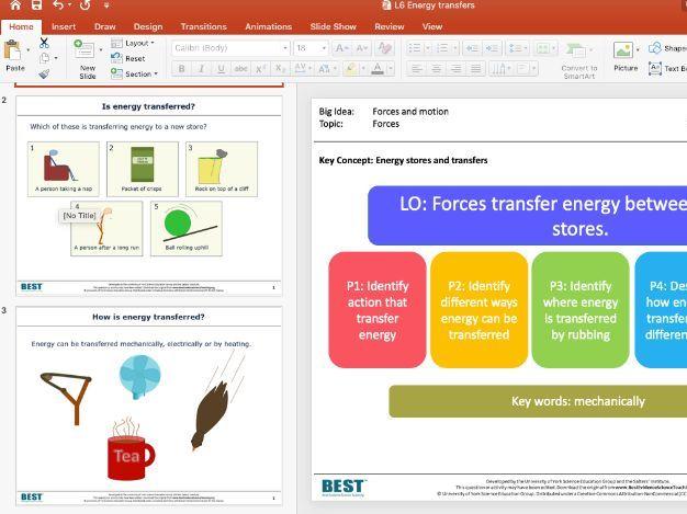 KS3 BEST - Energy transfers