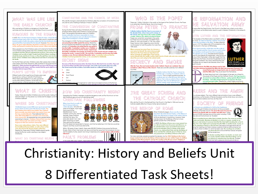 an overview of christianity history and beliefs Lutheranism is a major sect of christianity we'll examine its origins, its founder martin luther, and the beliefs of lutherans worldwide we'll.