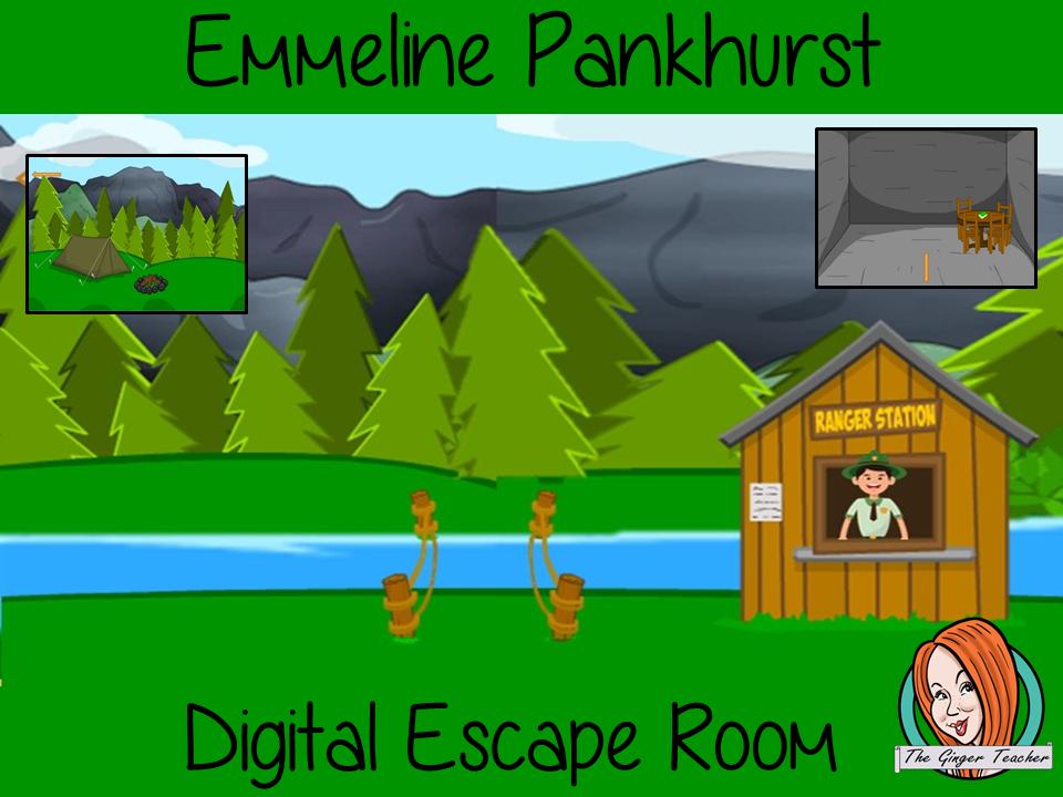 Emmeline Pankhurst Escape Room
