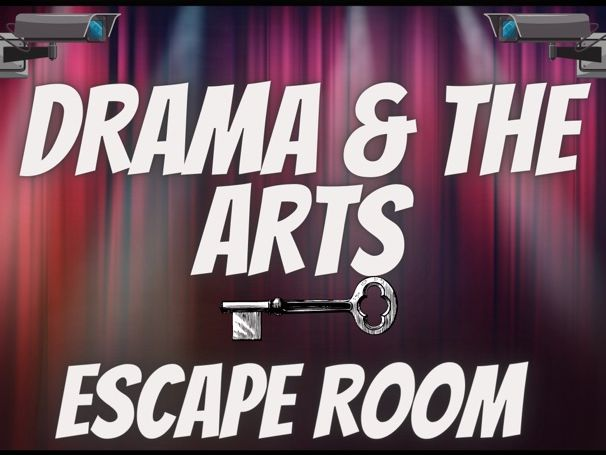 Drama End of Year Escape Room