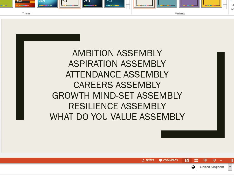 Assembly bundle for secondary schools NEW