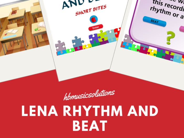 Lena's Short Bite Rhythm And Beat Interactive Module.