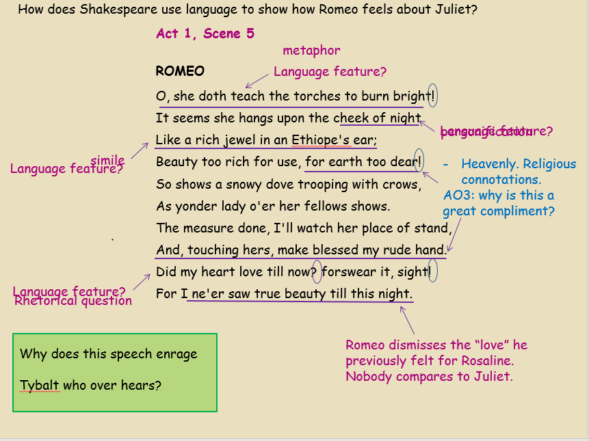 Romeo And Juliet Act 1 Scene 2 And Act 1 Scene 5 Analysis