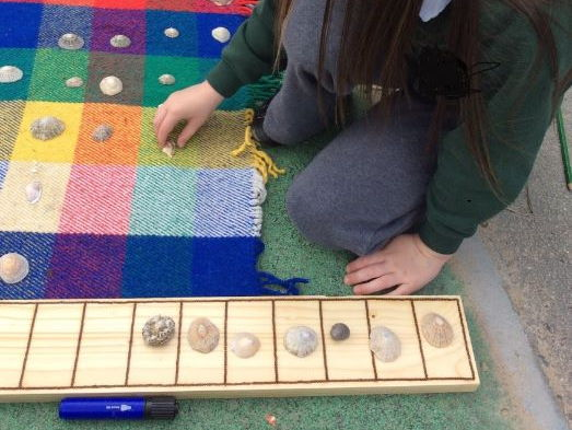 Early Years Maths Outdoors