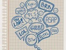 SMS Language/ Le langage SMS