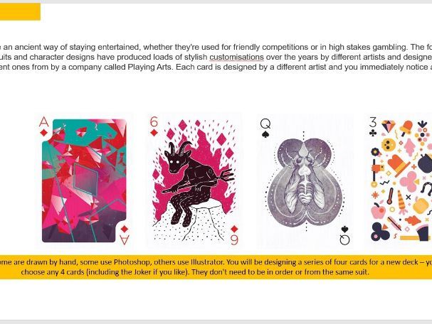 Playing Cards project