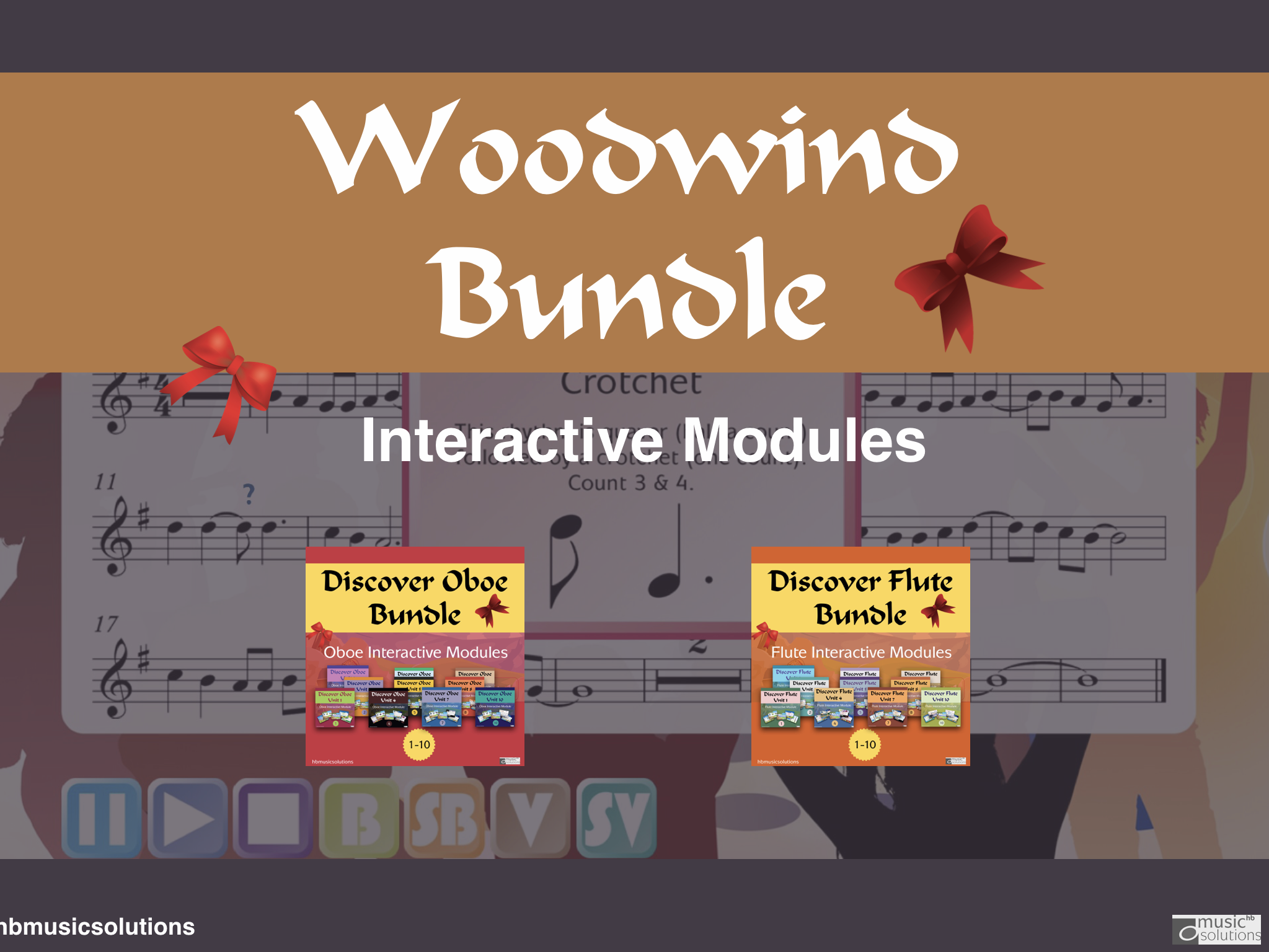 Woodwind  Music Discover Bundle