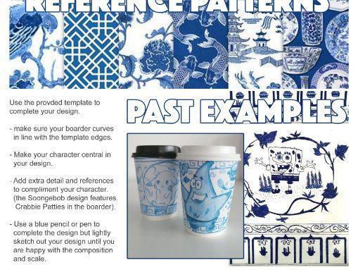 Art & Design Cover Lesson - Coffee Cup