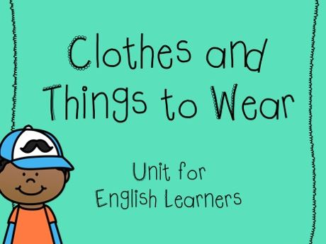 Clothes/clothing unit - ESL/EL