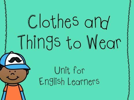 Clothes/clothing unit - ESL/EL