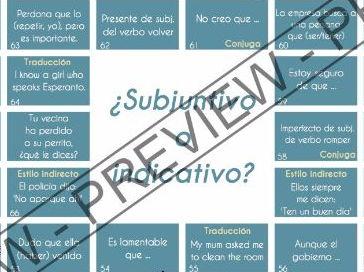 El juego de subjuntivo - Game to practice Spanish subjunctive