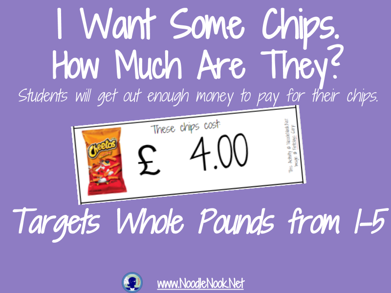 I Want Some Chips- A Money Math Activity