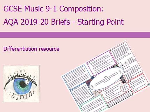 AQA Music GCSE 9-1 Composition: 2019-2020 Brief 1 Starting Point