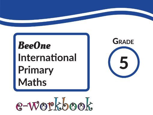 Grade 5 Maths Workbook, 369 Worksheets  from BeeOne Books
