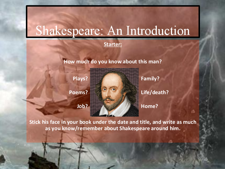 The Tempest - Full KS3 Scheme of Work