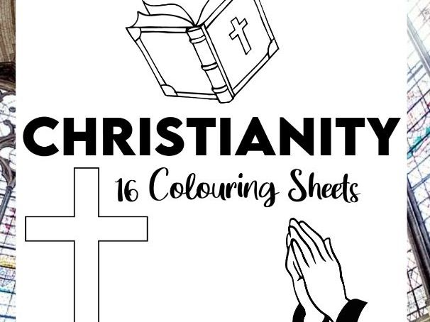 16 Christianity Colouring Sheets KS1