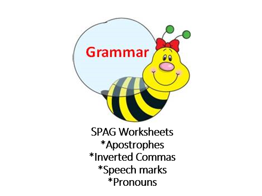 SPAG Worksheets