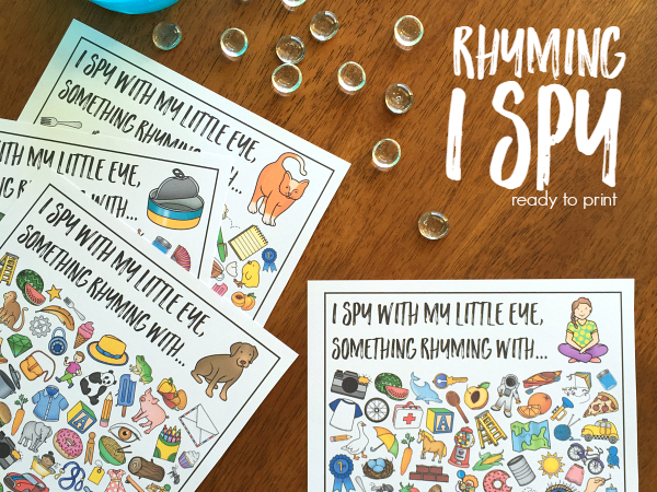 Rhyming Word I Spy Bundle