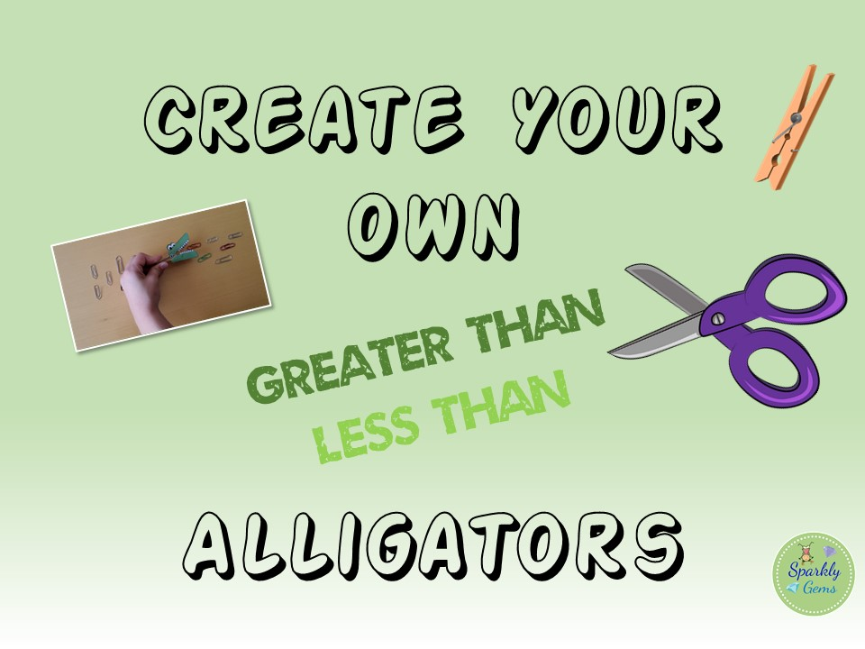 Create Greater Than Less Than Alligators
