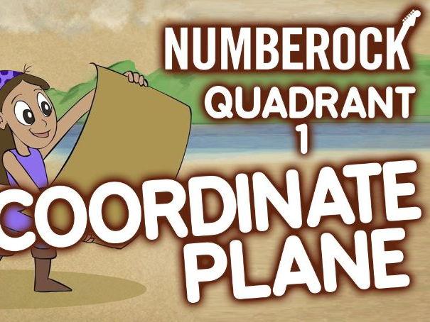 KS2 Coordinates Maths Revision Song (1st Quadrant)