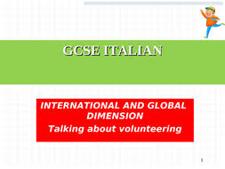 NEW ITALIAN GCSE REVISION RESOURCES