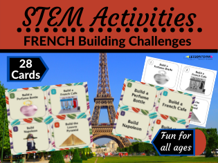 STEM Activities: French Building Challenges