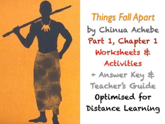 Things Fall Apart (Chinua Achebe) Ch. 1 - Unoka - NO PREP Activities + ANSWERS