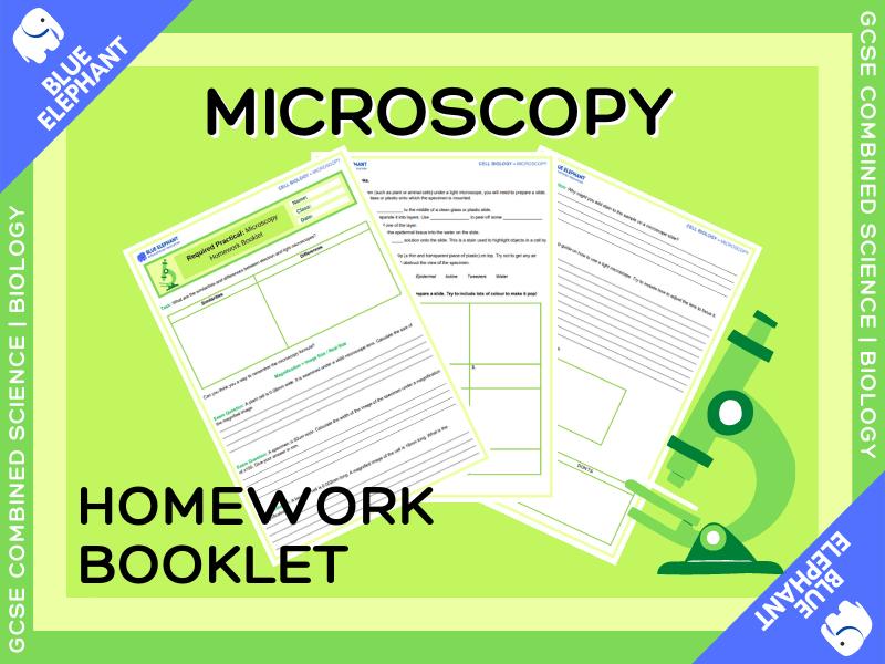 B1 | Microscopy Homework Booklet
