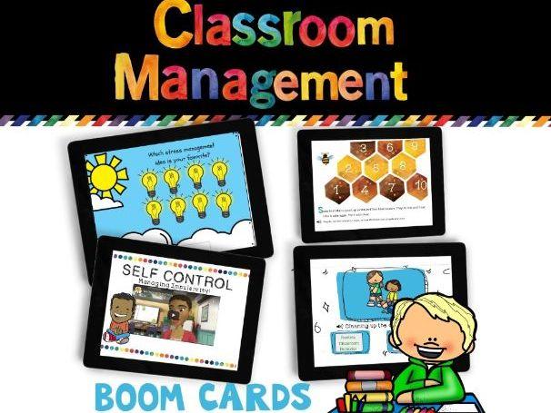 Classroom Management Boom Cards BUNDLE