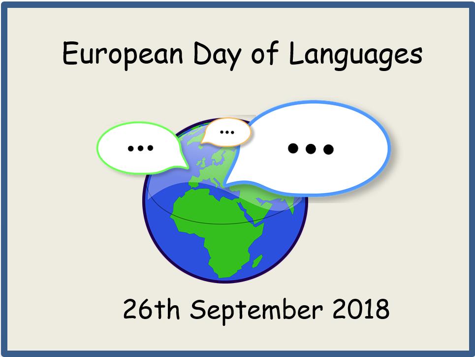 European Day of Languages 2018