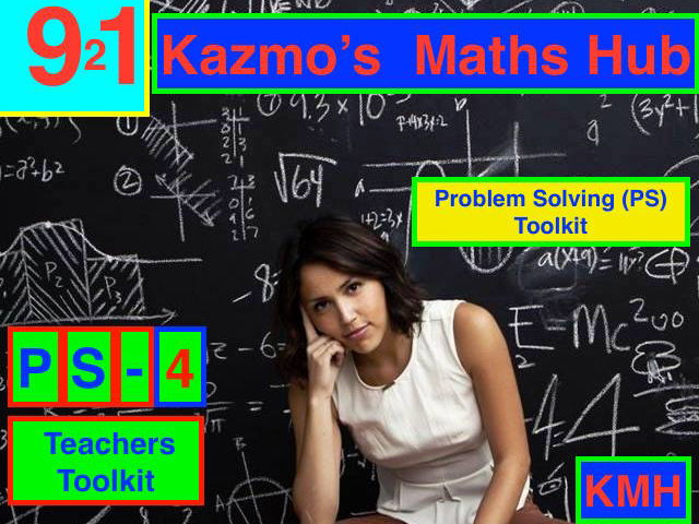 New 9-1 Maths GCSE Problem Solving  6 - Algebra and Geometry Question - Grades 5-9