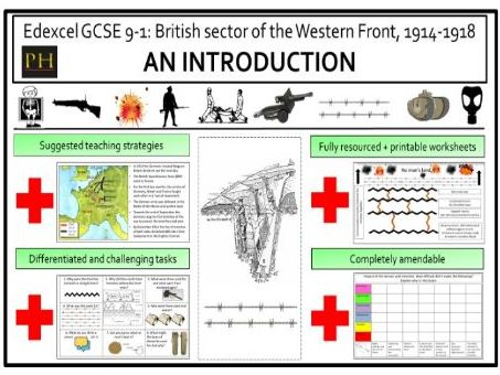 British sector of the Western Front introduction
