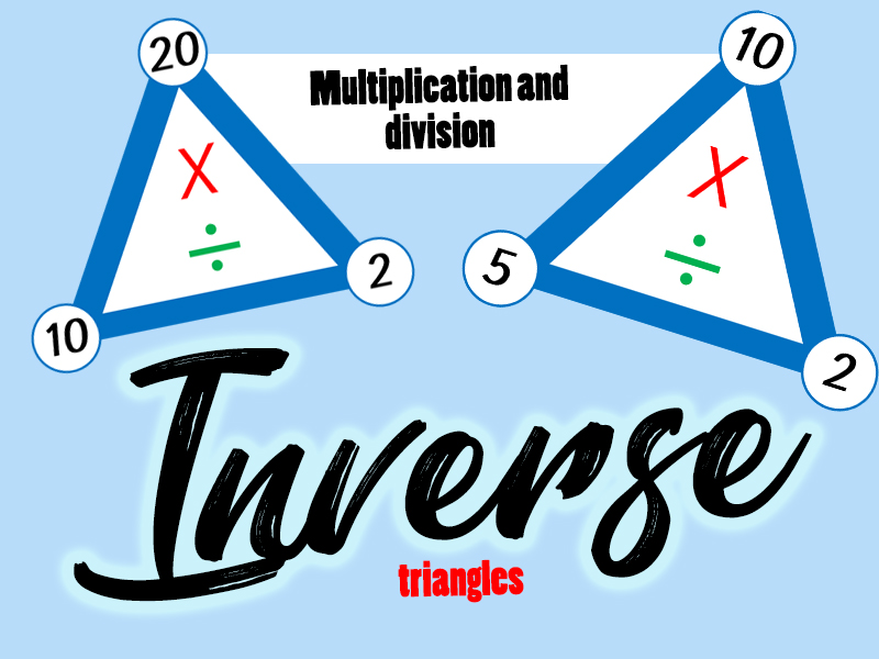 Inverse - Multiplication and Division Triangles