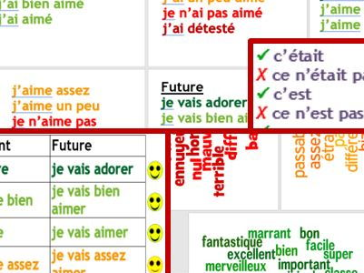 French classroom display: Opinions
